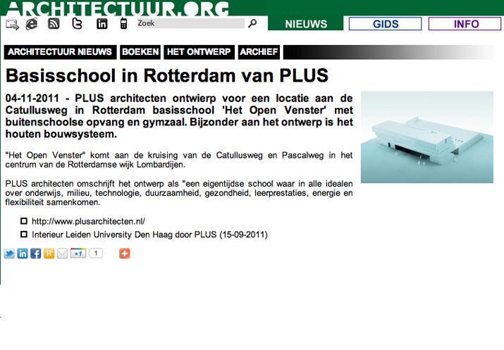 Publicaties for Het open venster rotterdam